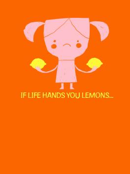 Lemonade? cheer-ups card