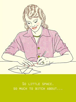 No Space life, etc. card