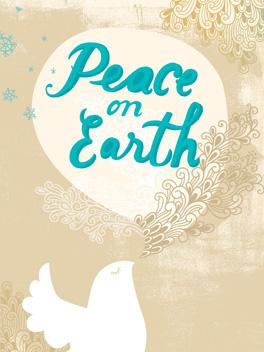 Peace! christmas card
