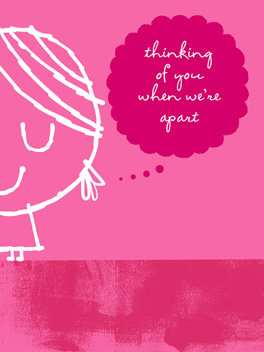Ladywha? valentine's day card