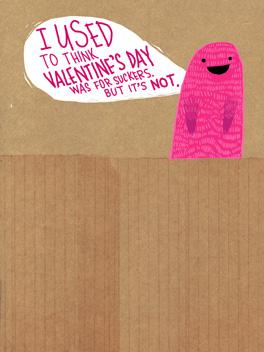 Sucker Punch valentine's day card
