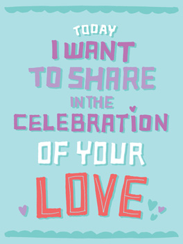 Share the (Platonic) Love anniversary card