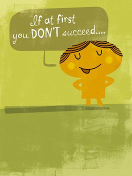 Successful Swearing cheer-ups card
