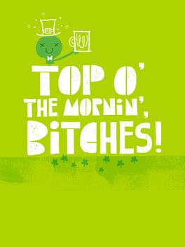 Top o' the mornin' st. patrick's day card