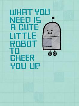 Cheer-bot cheer-ups card