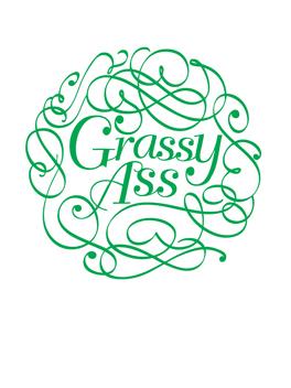 Grassy Ass thanks card