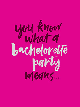 evidence bachelorette card
