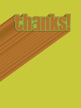 super thanks thanks card