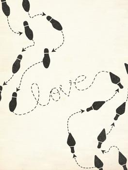 love life, etc. card