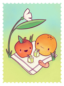 picnic days life, etc. card