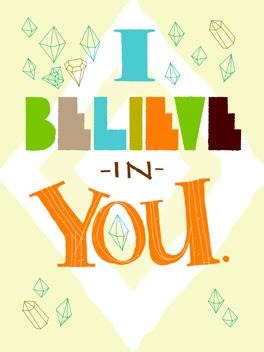 believe me cheer-ups card