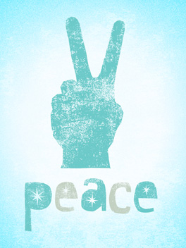 pass a peace on the fly card