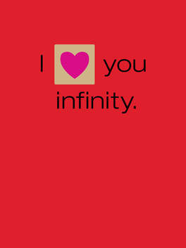 simple equation valentine's day card