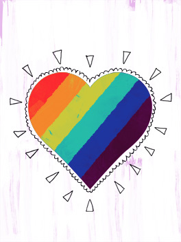 love is love valentine's day card