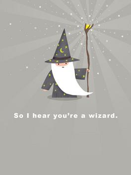 Wizardiest friends rule card