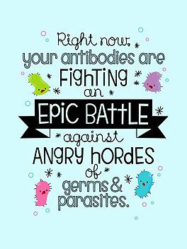epic battle feel better card