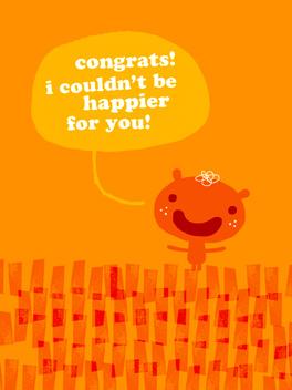 sincere congrats just congrats card