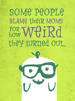 blameless mother's day card