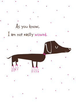 Bow Wow just congrats card