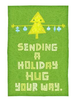mmm...pine christmas card