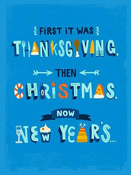 holi-don't happy new year card