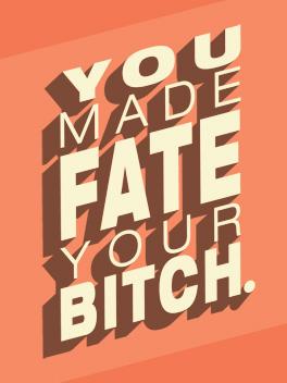 fate just congrats card