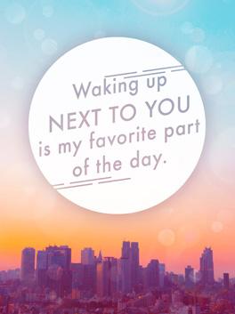 good morning! life, etc. card