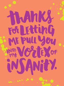 vortex thanks card