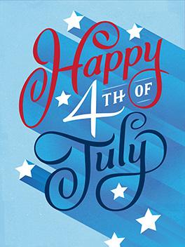 celebrate! 4th of july card