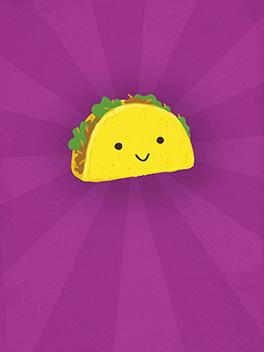 taco time! life, etc. card