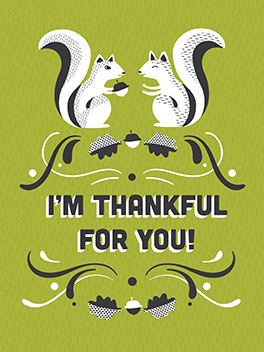 even-steven thanksgiving card