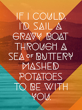 sail away thanksgiving card