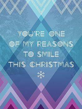 holiday smile christmas card