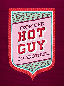 guy to guy valentine's day card